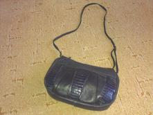 Tmavomodra kabelka,