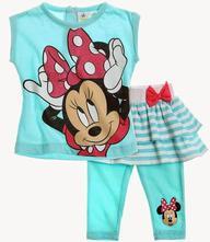 Disney minnie souprava trička a kraťasů, disney,68 / 80 / 86 / 92