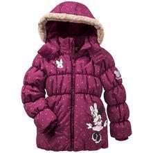 Zimná bunda s minnie, topolino,98 - 128