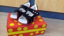 Nenosené kožené sandále slovobuv, slovobuv,25
