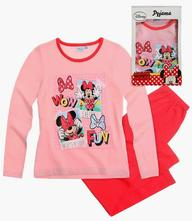Disney minnie pyžamo darčekové balenie ružová, disney,92 / 116 / 128
