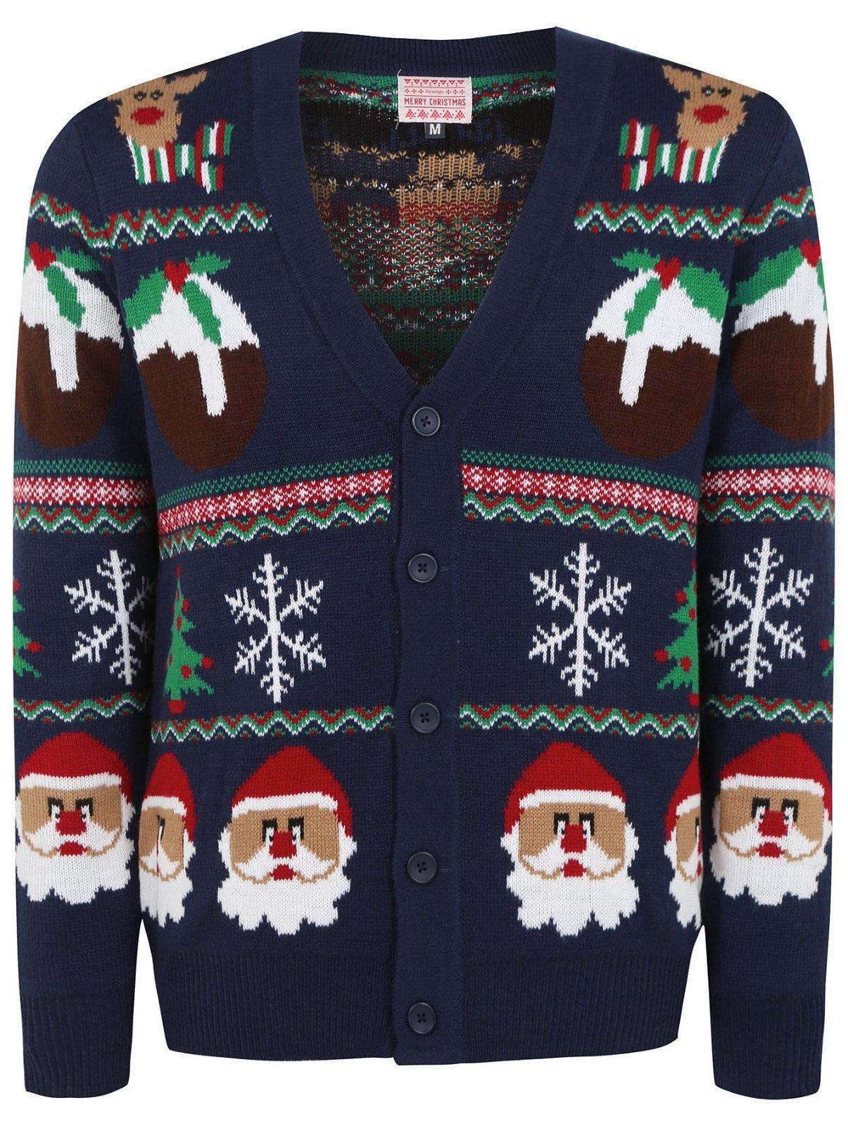 77d9942b2cb9 George pánsky vianočný kardigan