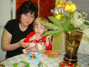 Tobiasko gratuluje babine Ku Dnu Matiek....