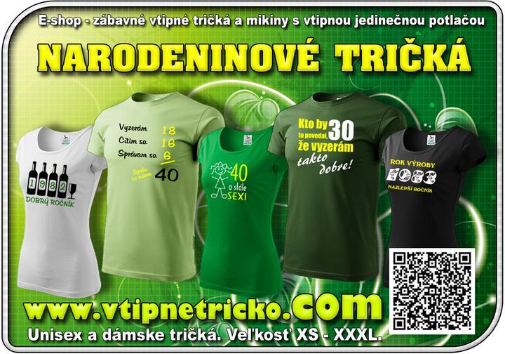 cd410fa17c21 Narodeninový darček - tričko k narodeninám - http   www.vtipnetricko ...