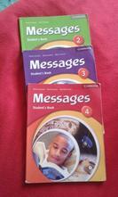 Anglické učebnice messages 2, 3, 4,