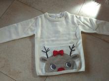 Dievčenský vianočný sveter, c&a,92