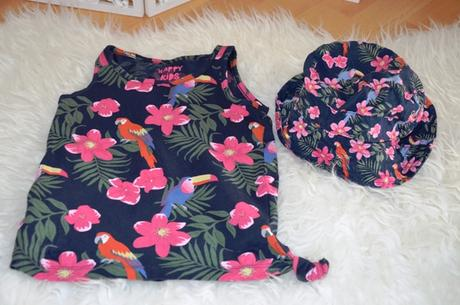 Set-tričko+klobúk-110/116, tcm,110