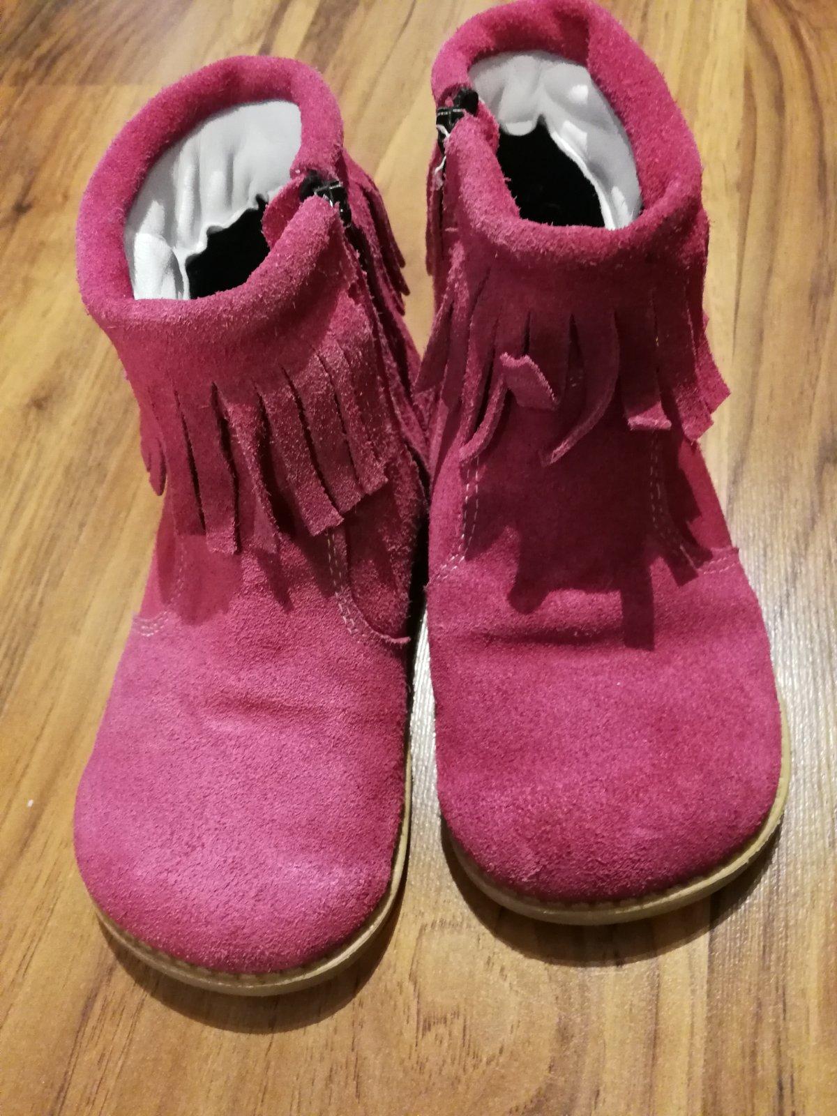 c4e1eb518a66 Jarné barefoot kožené čižmy vd 18