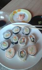 Výborné domáce sushi nášho tatina ♥