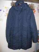 284fcd3547 Tmavomodrá bunda