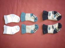 Hrubé ponožky 3 ks, lupilu,17