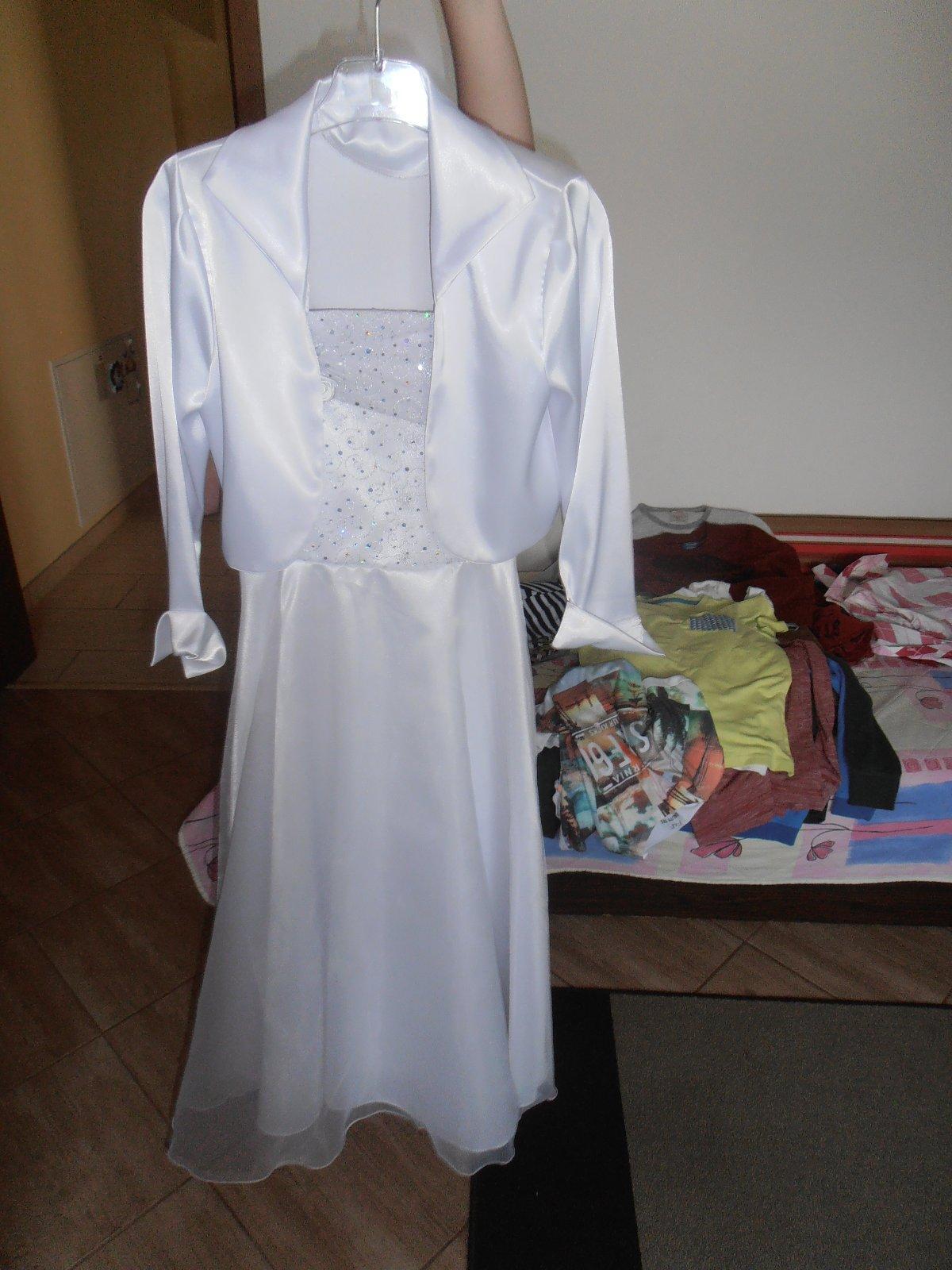 eaada2f512e9 Šaty snehovobiele na prvé sväté prijímanie č. 152