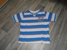 Tričko s pásikmi, palomino,98