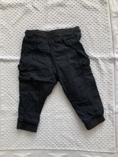 Podšité nohavice, h&m,80