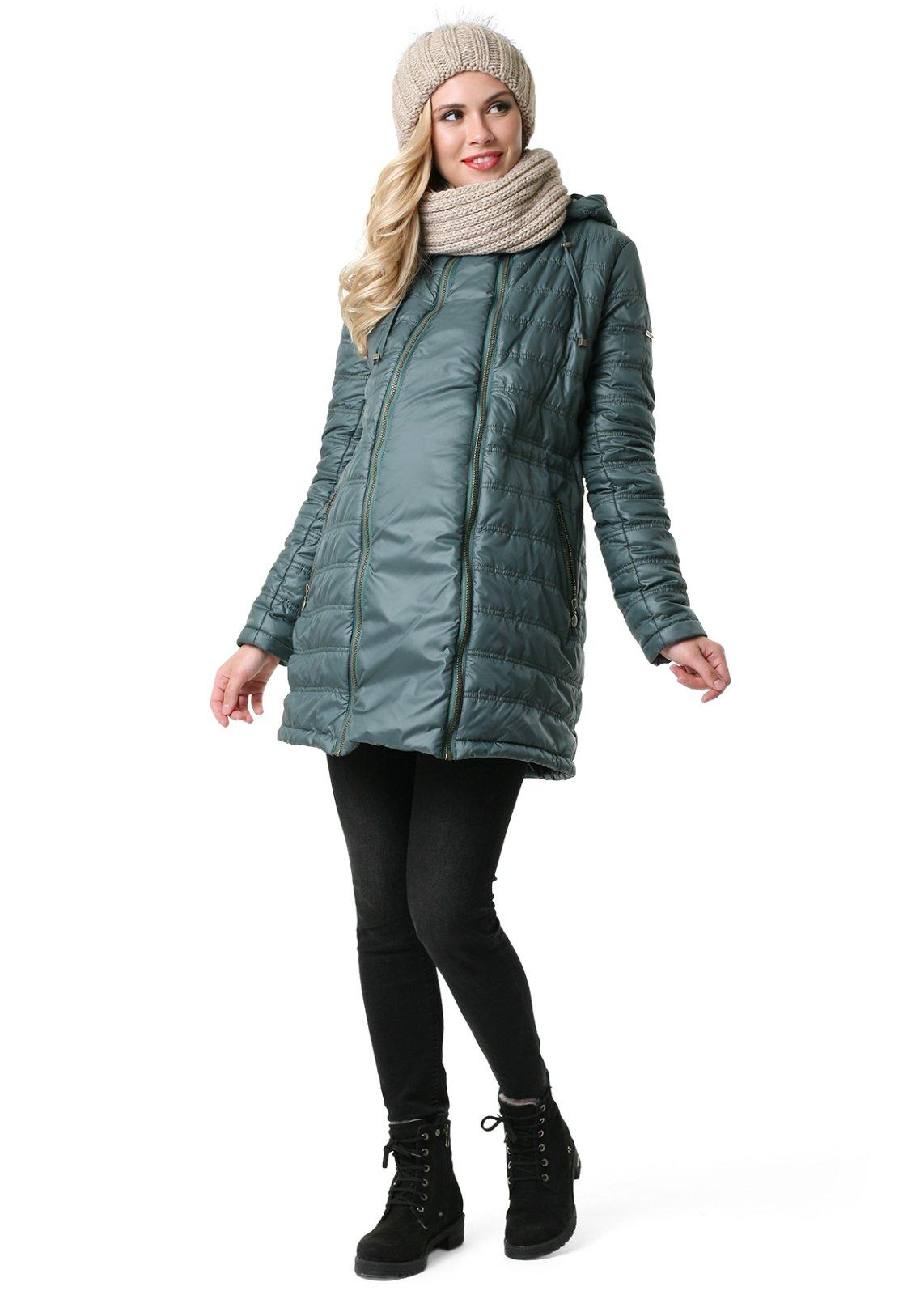 Tehotenska bunda-vhodna aj na nosenie deti 221cc98809e