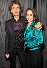 Mick Jagger ( Rolling stones ) - Elizabeth ( * 1984 )