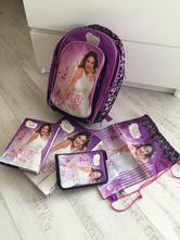 043b374065 Anatomická školská taška violetta+grátis vybavenie