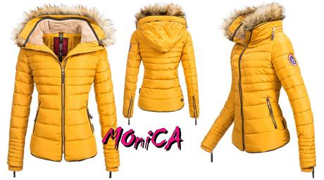 Luxusná dámska zimná bunda - slim - 4 farby c32b522a809