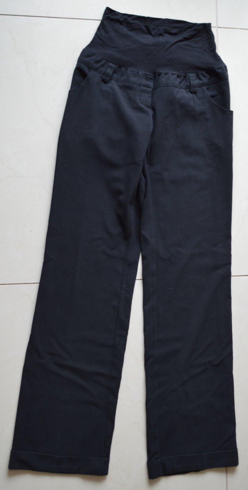 b9a615b8cc Čierne tehotenské nohavice zn. ma-ma