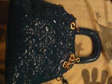 Krásna nová kabelka tyrkysová.,