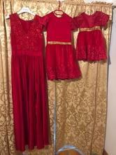 Šaty mama a dcery, 134