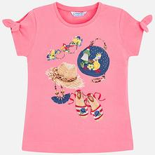 Mayoral dievčenské tričko 3009-043 rosa, mayoral,92 - 134