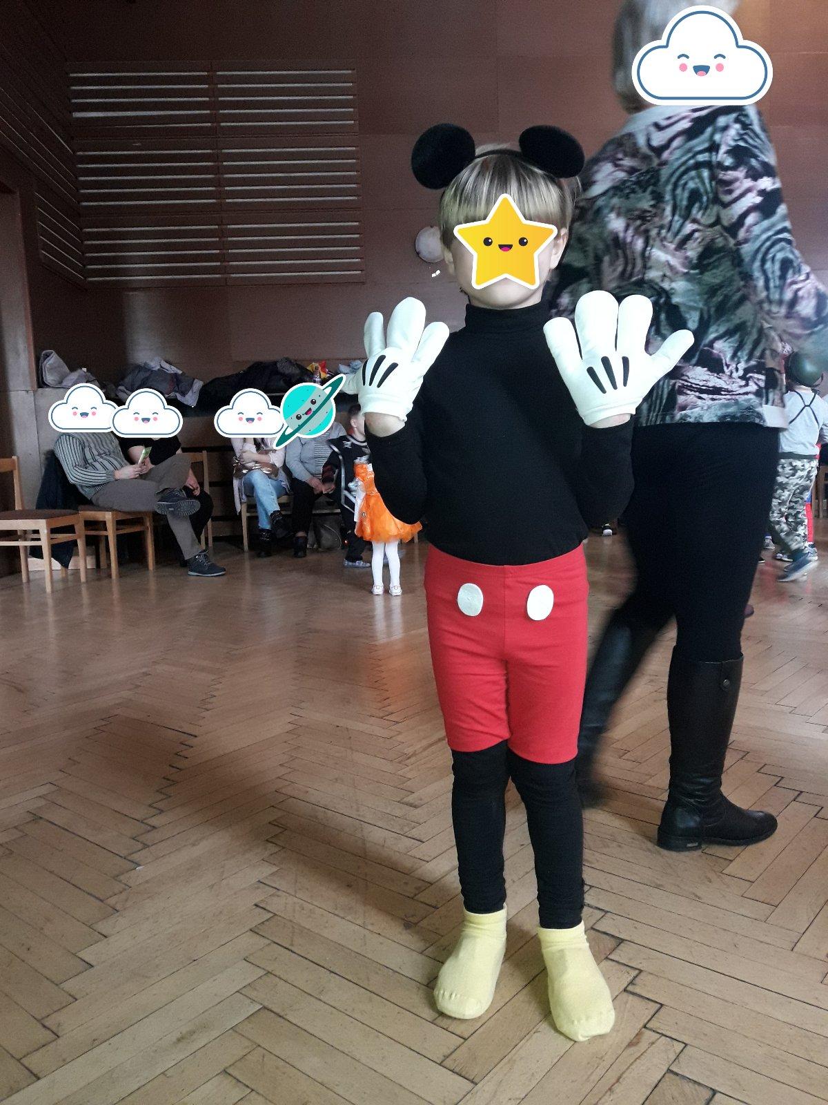 Kostým na karneval mickey mouse 93c74e8c296