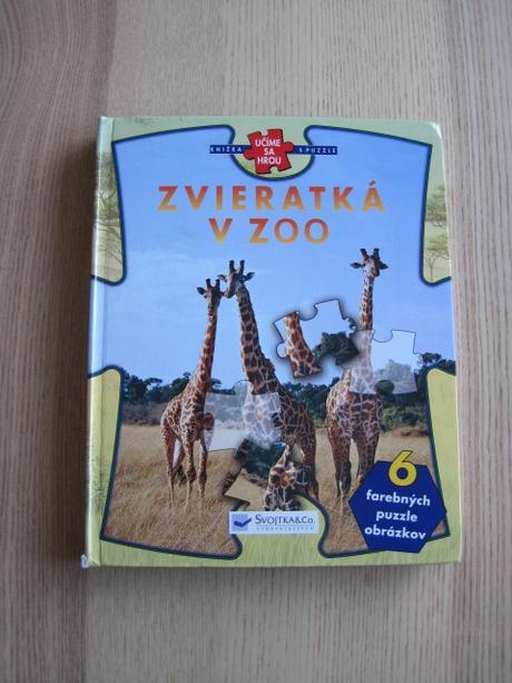 c24e6c976 Kniha s puzzle - zvieratká v zoo od svojtka, - 4 € od predávajúcej nyc    Detský bazár   ModryKonik.sk