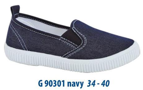 8eb9d0b1cd5a Plátenky g90301 navy - novinka 2016