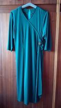 Sviatočné tmavozelené šaty , xxl
