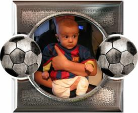 3 mesiac a tazky futbalista