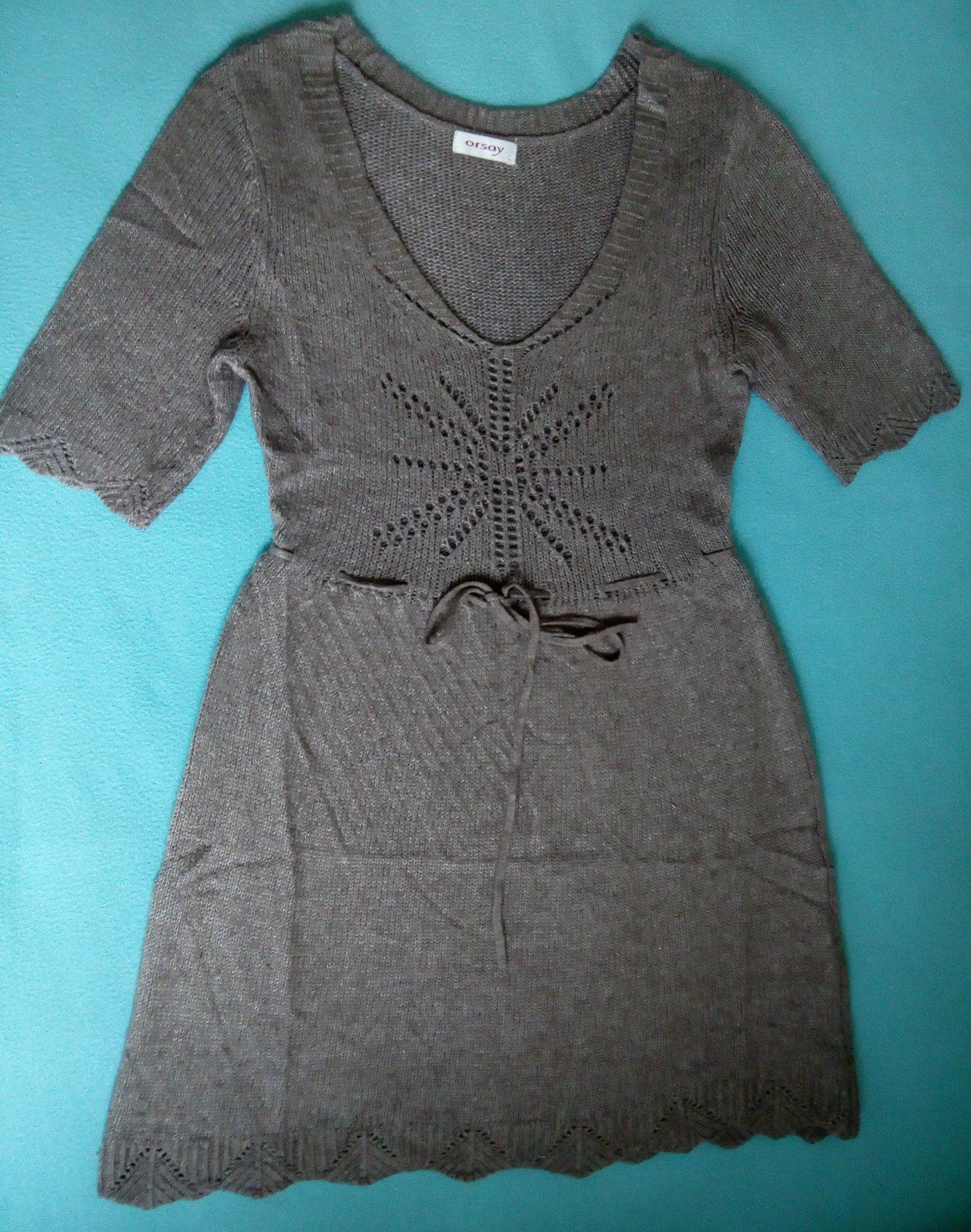 76a524fd4517 Úpletové šaty zn. orsay veľ. s m
