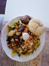 Zeleninka, olomoucke s plesňou, paprikove arasidy a spaldova kaiserka