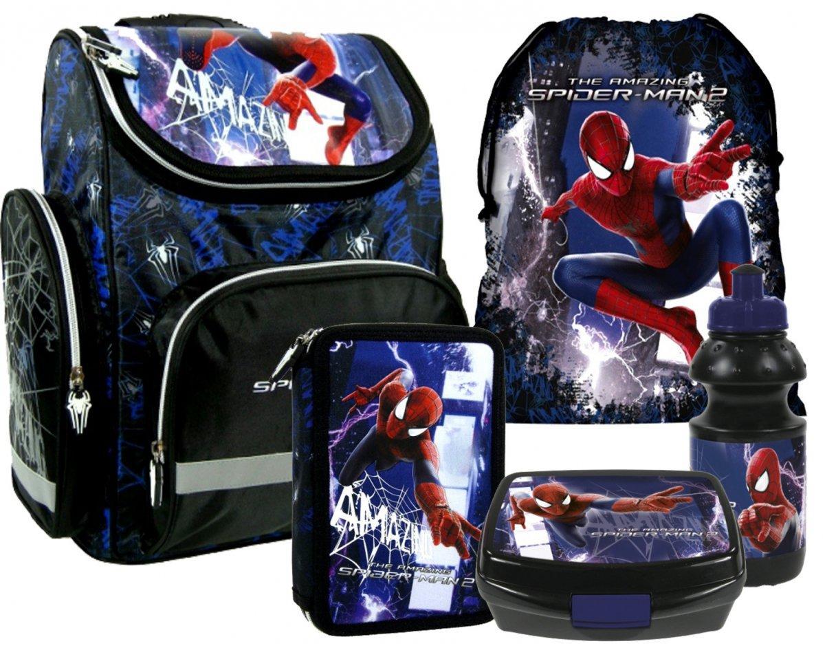 Školská taška aktovka 5v1 spiderman 83f265a873