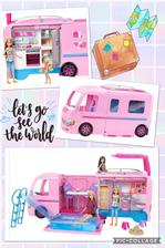 Barbie Karavan snov 💖 s tymto darcekom sme tiez trosku vahali, ci sa to oplati kupit (kedze v predaji je aj karavan Steffi Love za omnoho nizsiu cenu). Po odkusani a prvych dnoch hrania ho mozem na 100% odporucat 💖