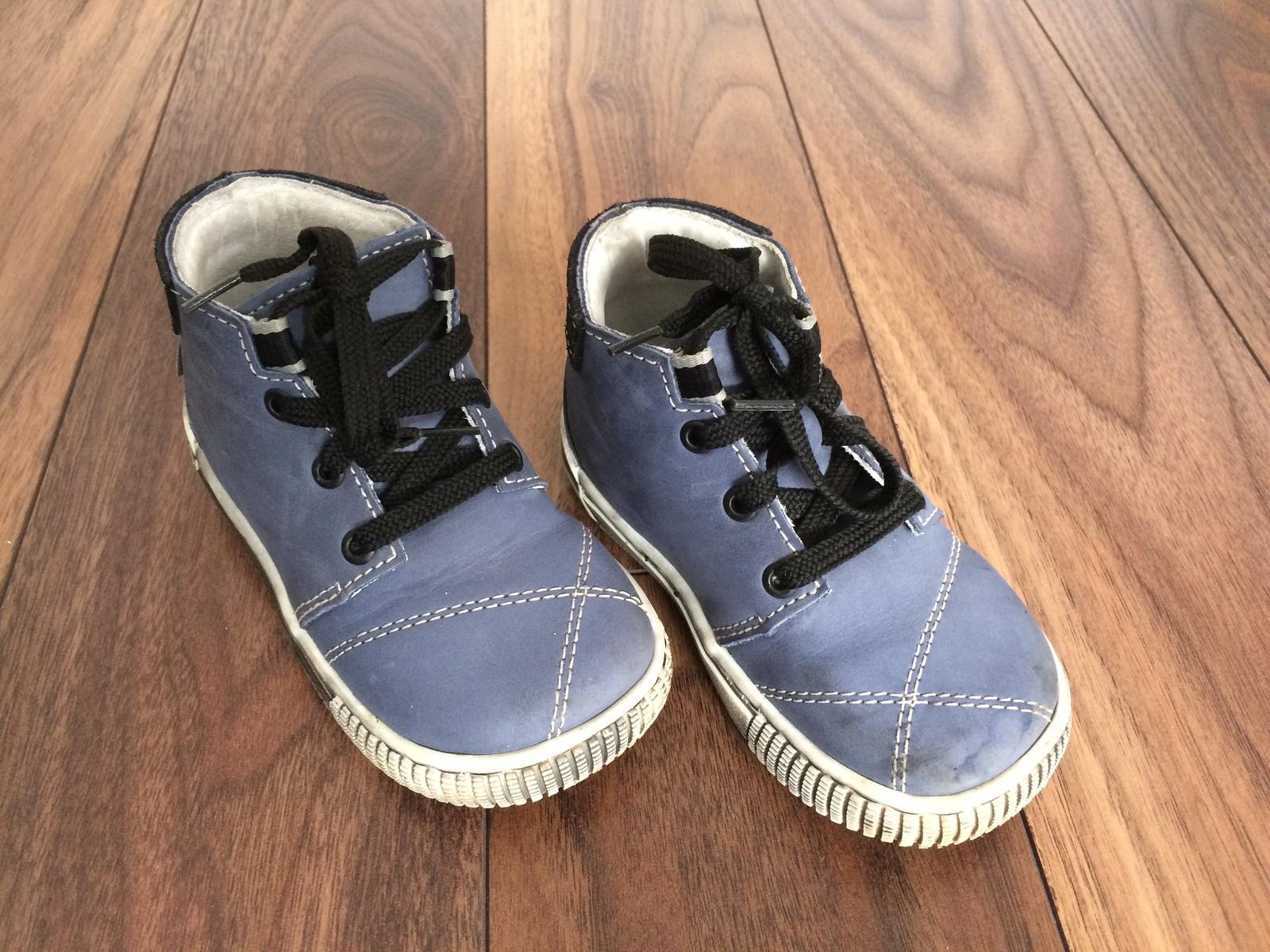 Chlapčenské kožené topánky 462b0420c8c