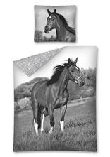 Obliečky kôň čiernobiely 140/200, 70/80, 140,200