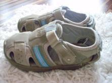 Sandálky na suchý zips, zara,23