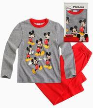 Disney mickey pyžamo v darčekovom balení šedé, disney,116 / 128