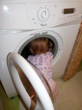 V pračke nič nie je...