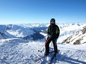 lyžovanie v 10tt (alpy, 3200 mnm)