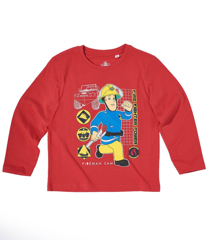 62c7b6e41481 Tričko požiarnik sam červené s dlhým rukávom