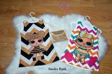 Krásne šaty lolly pre malé dámy s kabelkou, 92 - 128