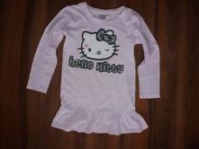 Predĺžené tričko hello kitty , 122