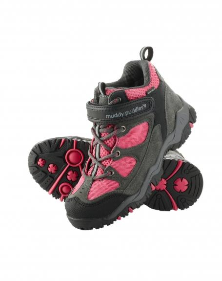 d1b3effed0a80 Trekingové topánky - ružová, muddy puddles,24 / 28 - 30 € od predávajúcej  navonka | Detský bazár | ModryKonik.sk