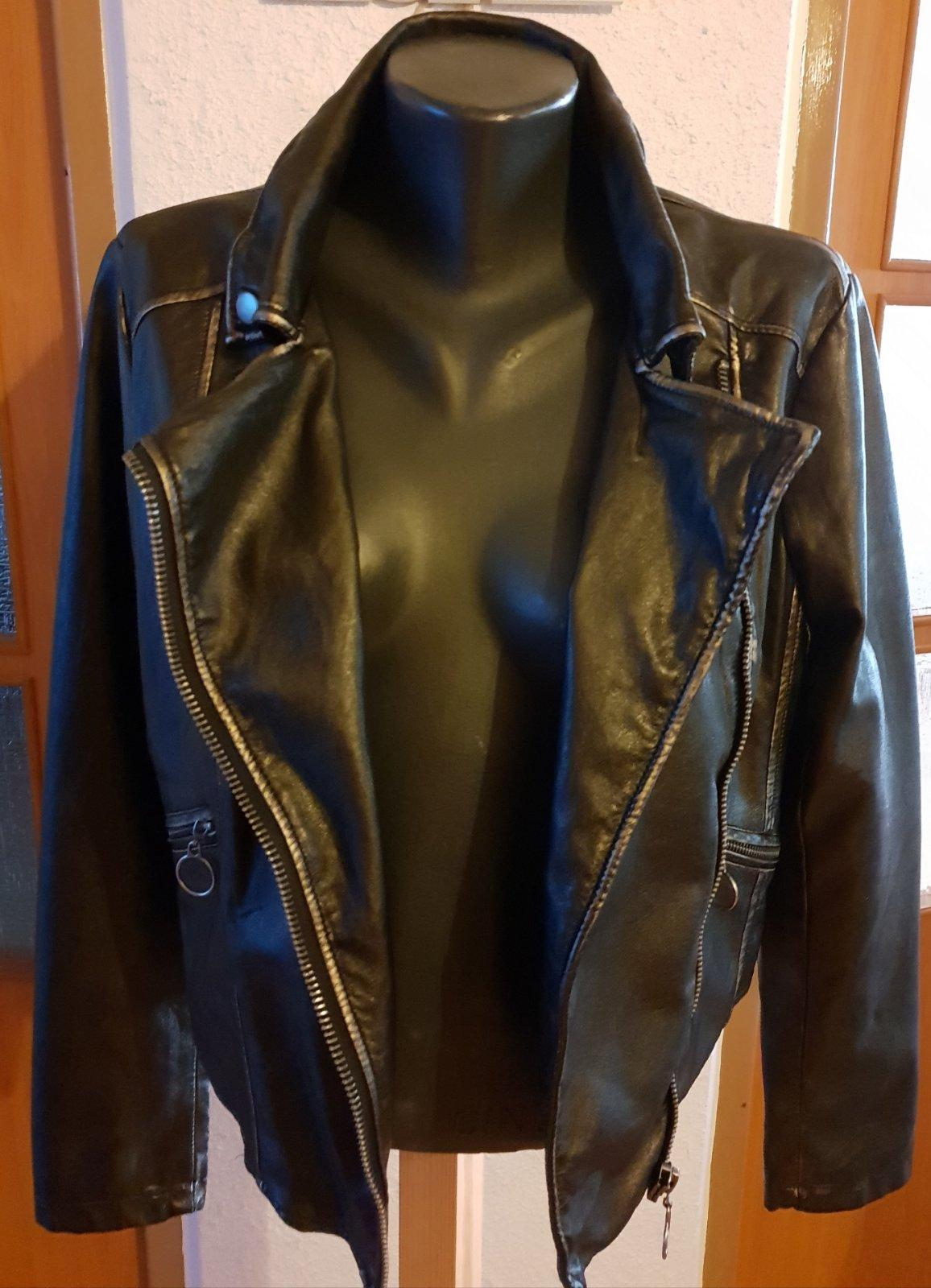 087006757 Dámska kožená bunda, amisu,40 - 30 € od predávajúcej erika7777 | Detský  bazár | ModryKonik.sk