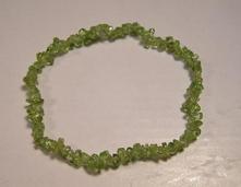náramok - olivín ,