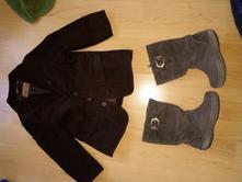 Čižmy crocs v.27 tepla vesta,sako,čiapka+ rukavice, crocs,27