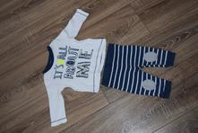 Súpravička tričko + nohavice, f&f,62