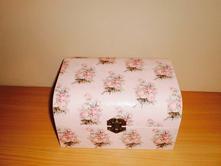 Veľká romantická spomienková krabička/šperkovnica,